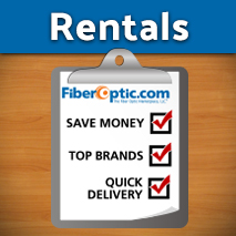Fiber Optic Equipment Rentals | 1-week, 2-week, 4-week and longer